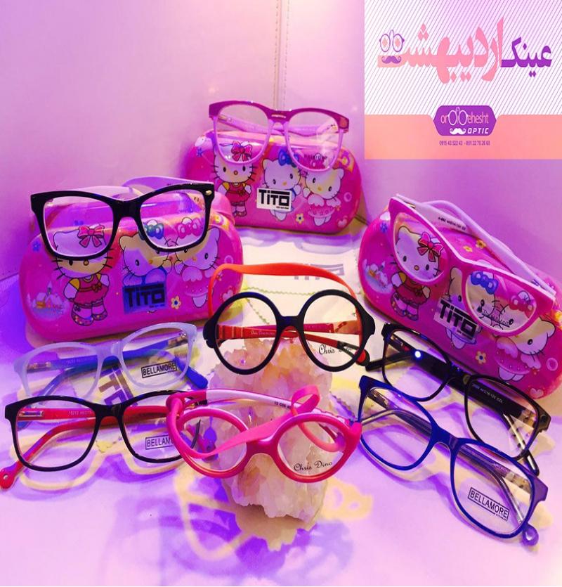 عینک طبی بچگانه