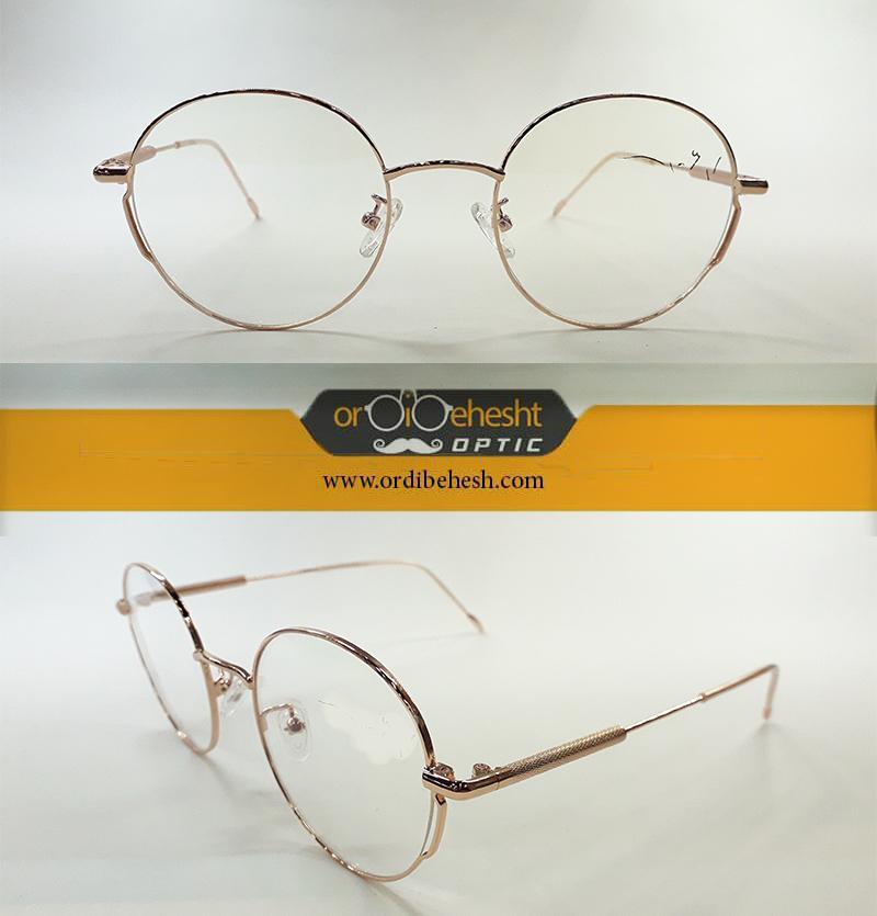 عینک طبی زنانه شیشه گرد MT
