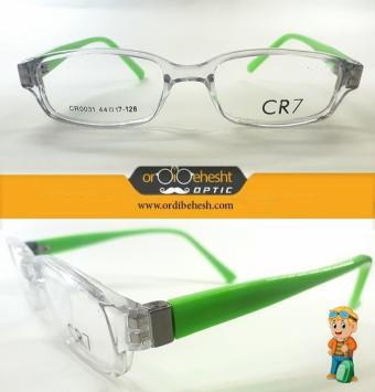 عینک طبی بچگانه cr7 دسته سبز