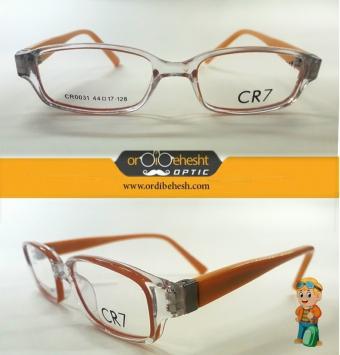 عینک طبی بچگانه cr7 نارنجی