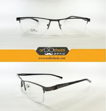 عینک طبی نیمه فریم مردانه