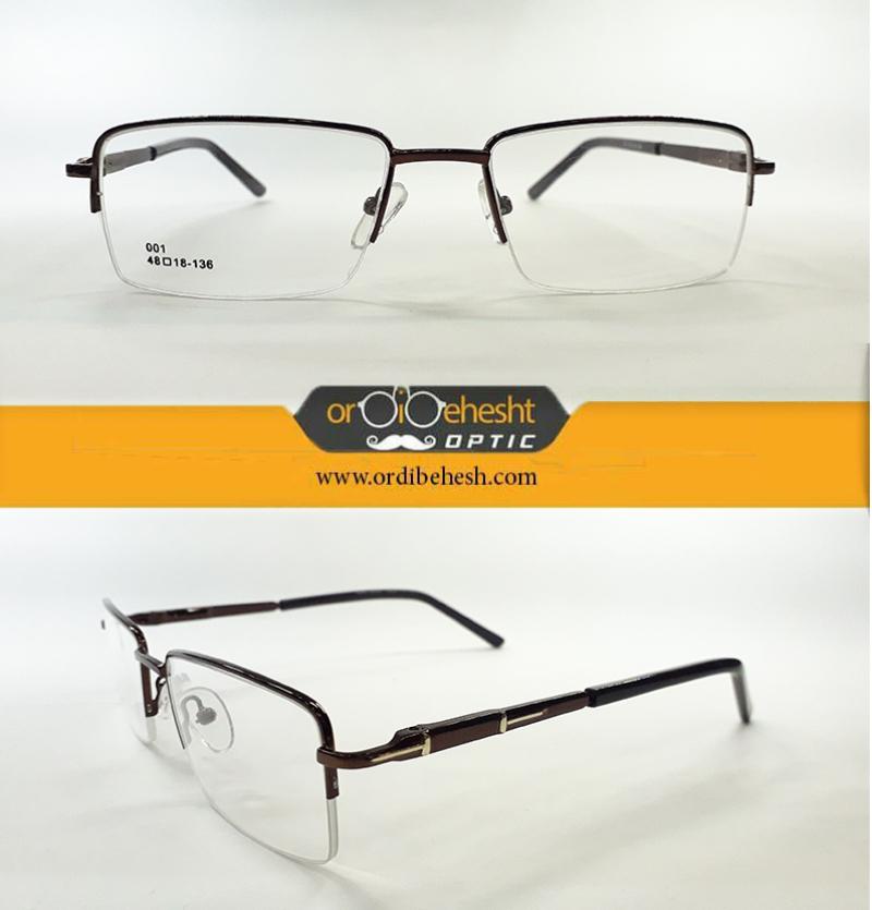 عینک طبی کلاسیک مردانه