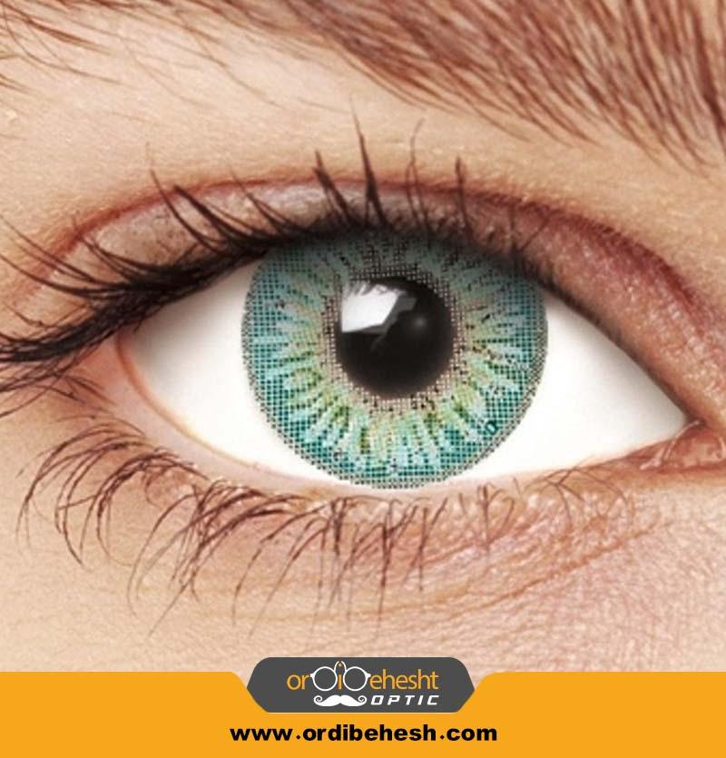 لنز آرایشی هرا سبز عسل لایت کد fA360
