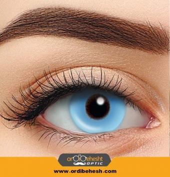 لنز آرایشی هرا رنگ آبی آسمانی Hc150