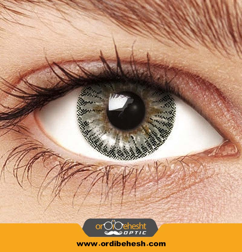 لنز آرایشی هرا خاکستری Hv110