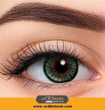لنز آرایشی هرا رنگ سبز عسلی HV330