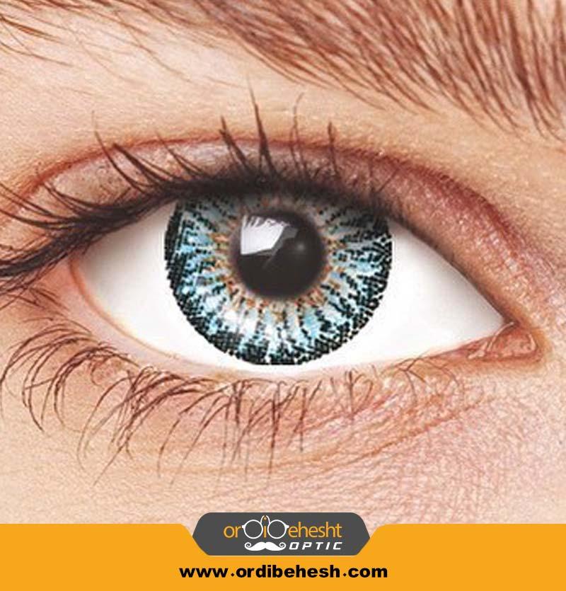 لنز آرایشی هرا آبی کد HJ360
