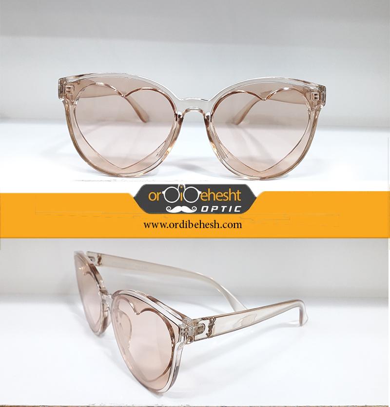 عینک زیبایی طرح قلب
