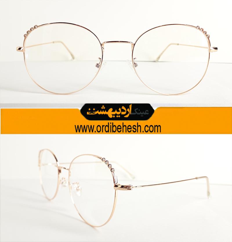 عینک طبی فلزی فشن102
